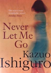 Book cover for Nobel winner Never Let Me Go - by Kazuo Ishiguro