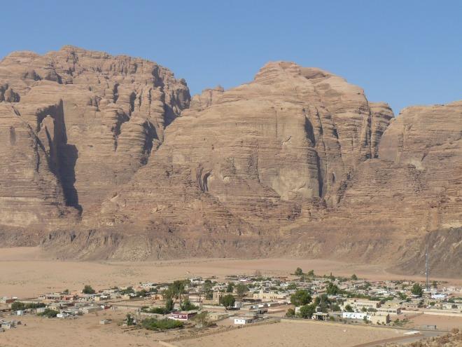 Village of Wadi Rum, Jordan, travel, desert,
