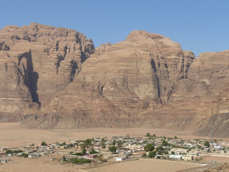Village of Wadi Rum, Jordan, travel, desert,