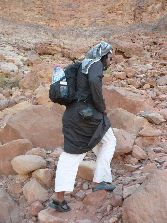 Wadi Rum, Jordan, travel, desert, Bedouin guide, climbing