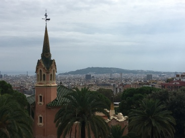 Barcelona as viewed from Park Güell